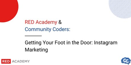 Community Coders x Red Academy: Instagram Marketing  tickets