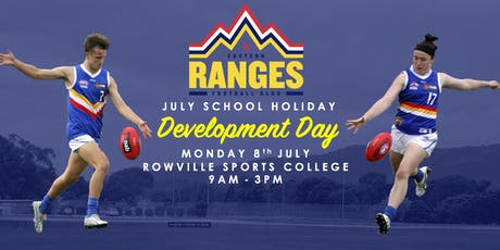 Eastern Ranges School Holiday Development Day 2019 tickets