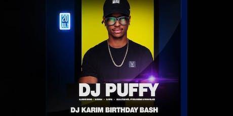 DJ Karim Annual Birthday Bash tickets