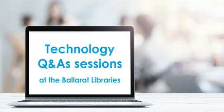 Technology Q&A - Sebastopol Library  tickets