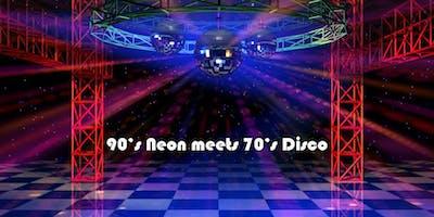 90's Neon meets 70's Disco - Romp Riot