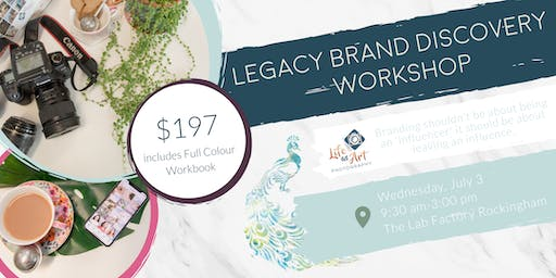 Legacy Brand Discovery Workshop with Life as Art