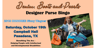 Denim, Boots and Pearls Purse Bingo
