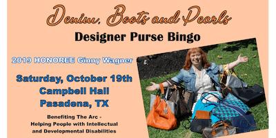 Denim, Boots and Pearls Purse Bingo