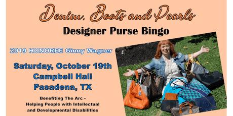 Denim, Boots and Pearls Purse Bingo tickets