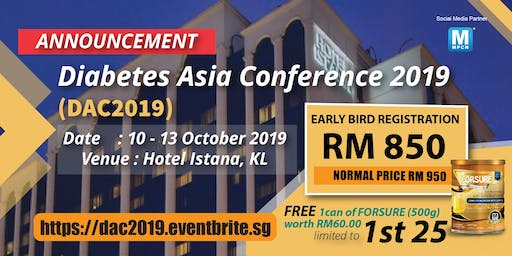 DIABETES ASIA CONFERENCE 2019 (DAC 2019)
