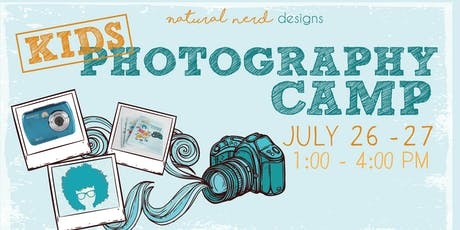Kids Photography Camp tickets