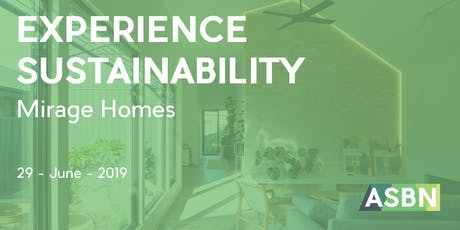 Experience Sustainability: Mirage Homes tickets