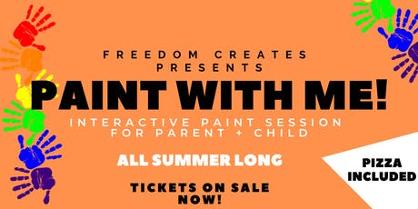 Freedom Creates Presents: Paint With Me! tickets