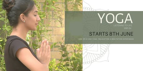 YOGA 'Listening to Life' tickets