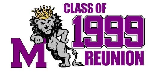 Manzano Class of '99 20 Year Class Reunion Main Event
