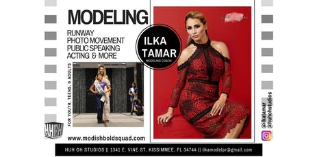 Modish Bold Squad Modeling Program  Pre-Registration Ages 15 years and up tickets