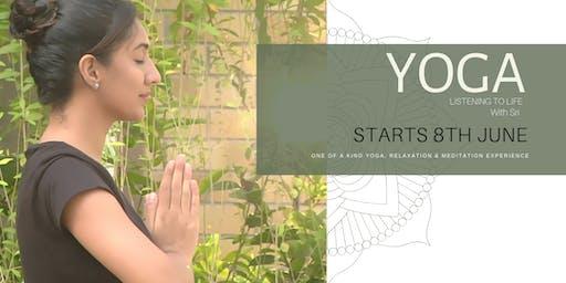 YOGA 'Listening to life' - UNPLUG