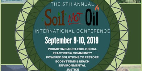 5th Soil Not Oil International Conference tickets