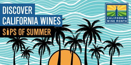 Sips of Summer: Discover California Wines tickets