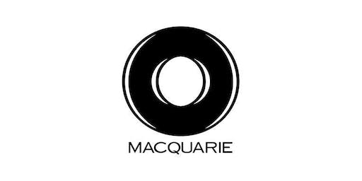 Macquarie: Industry Insights Lunchtime Workshop