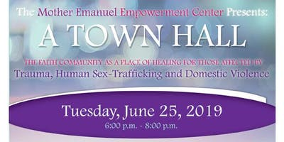 A Town Hall: The Faith Community as a place of Healing....