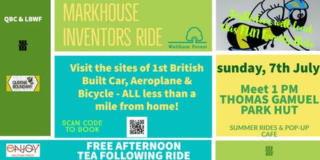 Markhouse Inventors Ride tickets