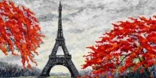 Paris Paint & Sip @ G Street Bar & Grill