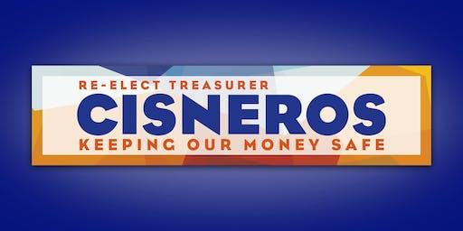 San Francisco Treasurer Jose Cisneros Campaign Kickoff