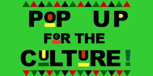 DC Pop-up For the Culture: Black Business Expo & Day Party (Vendors Wanted)