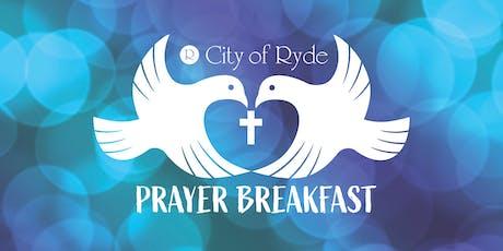 The City of Ryde Prayer Breakfast 2019 tickets