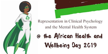 Representation in Clinical Psychology & the Mental Health System  tickets