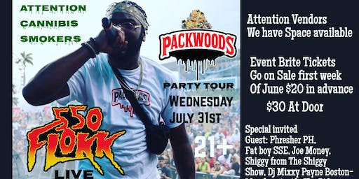 The PackWoods Party Tour