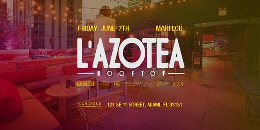 L'Azotea  at Langford Hotel Rooftop (Downtown Miami)