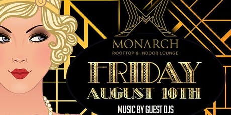 Friday Nights at Monarch Rooftop w/ Free Entry tickets