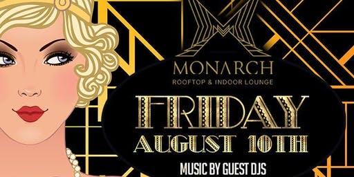 Friday Nights at Monarch Rooftop w/ Free Entry