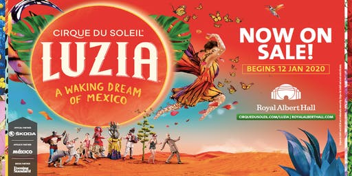 Cirque du Soleil in London -  LUZIA