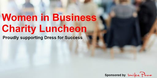Inspirational Women In Business Charity Luncheon Hand over your Handbag Ladies!