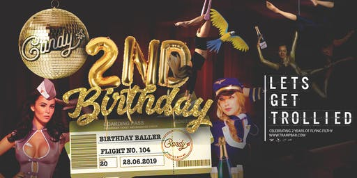 Candy 2nd Birthday