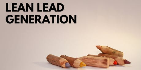 Lean Lead Generation tickets