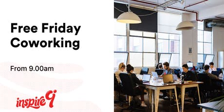 Free Friday Coworking tickets
