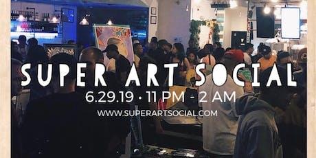 Super Art Social  tickets