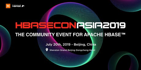 HBaseCon Asia 2019 tickets