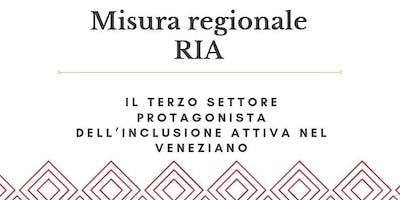 Misura regionale RIA - Il Terzo Settore protagonista dell'inclusione attiva