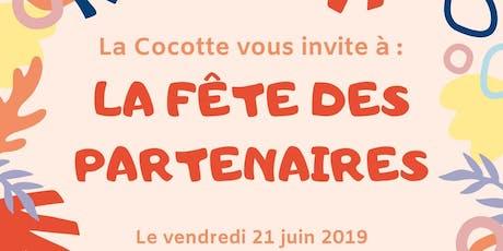 Fête des partenaires de La Cocotte Vénissieux (invitation Partenaires) billets