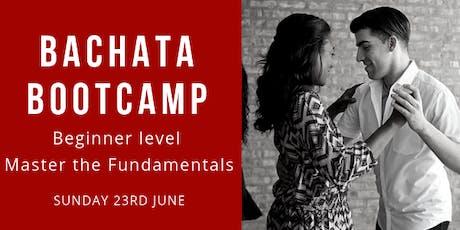 Bachata Bootcamp, Master the Fundamentals tickets