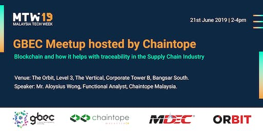 Blockchain and Traceability in Supply Chain hosted by Chaintope