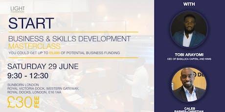 START: Business and Skills Development Masterclass (JUNE)  tickets