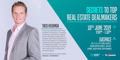 Secrets to Top Real Estate Dealmakers tickets