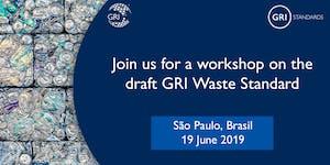 Stakeholder Consultation Workshop Draft GRI Waste Stand...