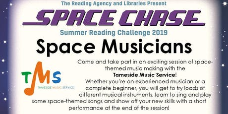 Space Musicians - Mossley Library tickets
