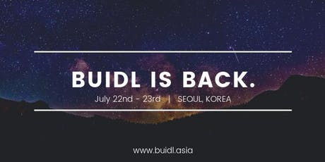 BUIDL Asia 2019  tickets