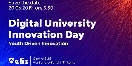 DIGITAL UNIVERSITY INNOVATION DAY 2019 biglietti