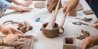 Little Potters 'Hand Building and Wheel Throwing' Classes