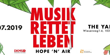 Hope 'n' Air - Musik rettet Leben tickets